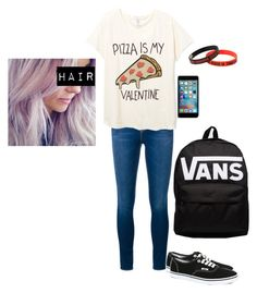 """""""Untitled #2632"""" by xx-fallen-angels-xx ❤ liked on Polyvore featuring Frame Denim and Vans"""