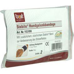 BORT Stabilo Handgelenkbandage Grösse 2 blau:   Packungsinhalt: 1 St Bandage PZN: 08527480 Hersteller: Bort GmbH Preis: 7,99 EUR inkl. 19…