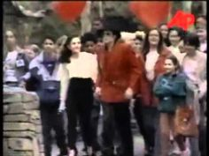 Michael Jackson and Lisa Marie Presley - Rare Moments - YouTube