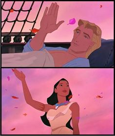 i cried like a baby during this. I just pretend Pocahontas II never happened haha!