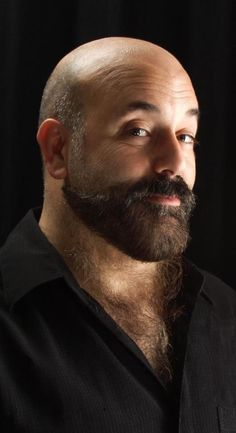 facial beard styles for bald men - baard voor kale man
