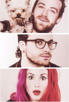 Paramore LOOK THERE'S COWBOY (DOG)!!!!!!!!!!!!