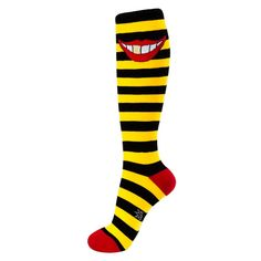 Gold Tooth Socks from On After Creations for $10.00