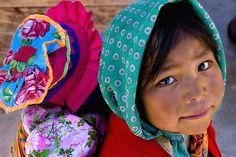 Tarahumara Girl, Mexico (by Steven House)