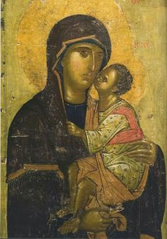 Theotokos Byzantine Icons, Byzantine Art, Religious Icons, Religious Art, Our Father In Heaven, Russian Icons, Best Icons, Art Icon, Virgin Mary