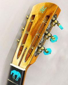 "Lame Horse Instruments on Instagram: ""Very clean #lamehorse #lamehorseinstruments #lamehorseguitars #jenkinsandson #jenkins #guitars #handmadeguitar #handmade #handbuilt #wood…"" Guitars, Instruments, Bangles, Horses, Wood, Handmade, Instagram, Bracelets, Hand Made"