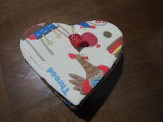 Estojinho de costura de bolsa, kit de cartonagem Claudia Wada