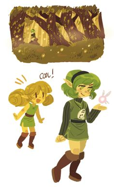 I feel like drawing some Ocarina of Time stuff :P