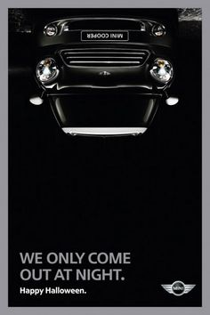 Simple and unexpected Mini Cooper ad via http://www.creativebloq.com/inspiration/print-ads-1233780 pinterest.com/gramercysocial #brandconcierge #branding