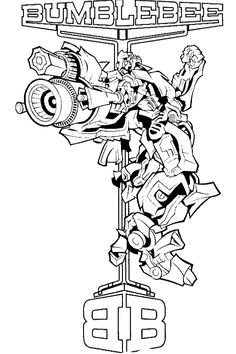 Transformers color page. Cartoon characters coloring pages. Coloring pages for kids. Thousands of free printable coloring pages for kids! Ninjago Coloring Pages, Transformers Coloring Pages, Bee Coloring Pages, Dog Coloring Page, Online Coloring Pages, Coloring Pages For Boys, Cartoon Coloring Pages, Animal Coloring Pages, Free Printable Coloring Pages