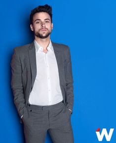 @Jack Falahee from HTGAWM in absolutely fenomenal grey suit
