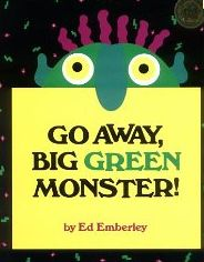 Free video version of Go Away Big Green Monster and activity.