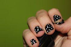 :) Polka Dot Nails