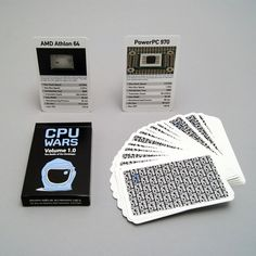 One deck of CPU Wars Volume 1.0 · $12.50