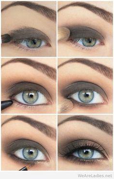 #Simple tutorial makeup eyes