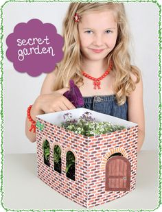 Grow a Secret Garden...sweet project.