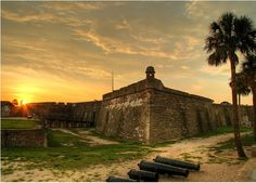 St Augustine, Florida  This quaint historic city was the first Spanish settlement in the United States. The Castillo De San Marco is a famous tourist attraction in the oldest city where hauntings supposedly take place. Reported spooky areas of the castle include the watch tower and the dungeon. Tour guides are available when visiting and they seem more than happy to discuss the forts haunted history.