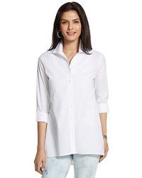 Effortless Roll-Sleeve Cayla Shirt