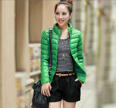 Free shipping 2013 new style short down jacket for women winter warmly clothes  from Reliable fashion coats for women suppliers on K&J Trading Company