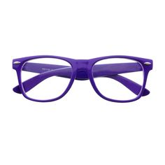 7f12c6fb58 Summer party style wayfarer glasses with clear lenses.