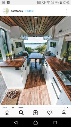 Container interiors Tiny House On Wheels Container Interiors Van Interior, Camper Interior, Rv Interior Remodel, Interior Design, Interior Decorating, Decorating Ideas, Bus Living, Living In Van, Kombi Home