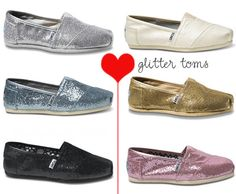 2795402125a sparkly toms More for the reception party!