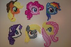 MLP Perler beads by CreepyBlackCat on deviantart