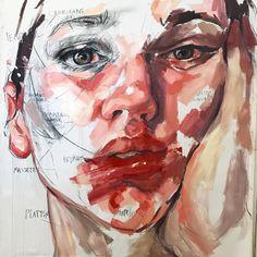 Elly Smallwood's art Art Sketches, Art Drawings, Elly Smallwood, A Level Art Sketchbook, Art Alevel, Guache, Ap Art, Art Portfolio, Portrait Art