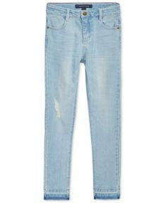Tommy Hilfiger Distressed Skinny Jeans Jeggings, Big Girls (7-16)