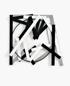 Imi Knoebel at Naecht St. Modern Artwork, Cool Artwork, Modern Wall, St Stephan, Imi Knoebel, January Art, Abstract Geometric Art, Contemporary Art Daily, Action Painting