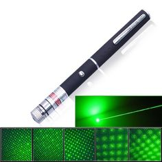 500MW Green Light Laser Pointer Pen with Starry Sky Projection