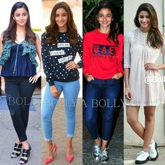 @BOLLYWOOD -  Which  is  your  Favorite  look  of  Alia from Kapoor and Sons promotions?  Look#1 Look#2 Look#3 Look#4  #AliaBhatt  looks from #KapoorAndSons promotions. @LOLLYWOODSTYLEFILE  PHOTO CREDIT  @BOLLYWOOD  #instabollywood #bollywood #india #indian #desi #bollywoodactress #mumbai #bollywoodfashion #bollywoodstyle #bollywoodmovie #indianfashion #indianstyle #delhi #noida #gurgaon #chandigarh #hyderabad #surat #tagforlikes #likesforlikes #fawadkhan #kapoorandsons #AliaBhatt #redtop…