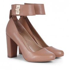 Kasia ♥ Removable Cuff Heel, Color: Adobe