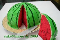 Another watermelon cake