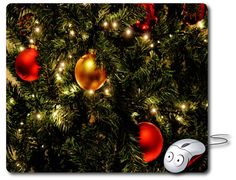 Christmas decoration Mouse Mat Computer Mouse Pad Best Mousepad Computer pad Christmas gift 2017 Happy new year gift ideas christmas present