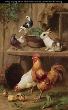 Farmyard Harmony - Edgar Hunt