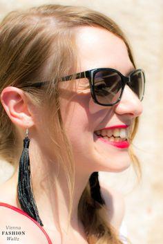 DIY Fransen Ohrringe / DIY Tassel Earrings / Fashion Blogger