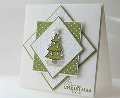 Square Card, Christmas