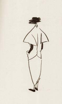 Yohji Yamamoto My Dear Bomb Illustration...Frame it for our home.