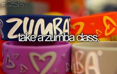 #94 Take a Zumba class. COMPLETED - FEB.11