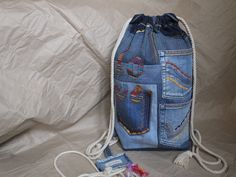 "Denim Backpack ""Love Hippie"", Garyusha Denim Bags Design, Recycled Jeans Backpack, Jeans Backpack, Denim Hippie Backpack, Hipster Backpack by GaryushaDenimBags on Etsy https://www.etsy.com/listing/556044731/denim-backpack-love-hippie-garyusha"