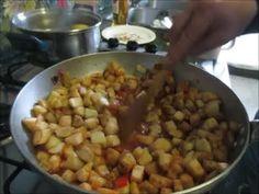 Cucina Facile e veloce a libera interpretazione oggi Melanzane al pomodo...