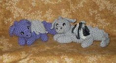 Sweet Little Dragon amigurumi crochet pattern