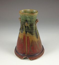 Grovewood Gallery, Asheville NC Crafts | David Voll...glaze layering- upside down??
