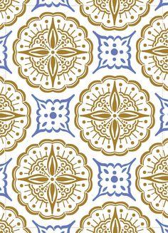 Motif mural Arabesque sur réutilisable 10MIL par PearlDesignStudio