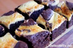-Chocolate Coffee Cheesecake Brownies-