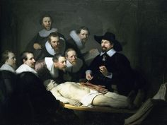 Rembrandt - The Anatomy Lesson 1639