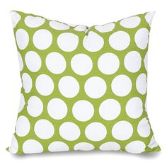 Polka Dot Large Throw Pillow