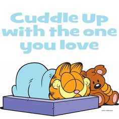 National Cuddle Up Day. Yeah, it's a thing.
