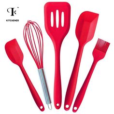 Cheap silicone cooking utensil set, Buy Quality kitchen cooking set directly from China cooking set Suppliers: desear FDA Approved Silicone Cooking Tools Silicone Kitchen Utensils Set in Hygienic Solid Coating Silicone Kitchen Utensils, Silicone Bakeware, Baking Utensils, Cooking Utensils Set, Kitchen Utensil Set, Bakeware Sets, Cookware Set, Kitchen Spatula, Cooking Spatula
